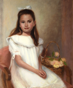 Family painting, Oil portrait by Boston portrait artist Sonia Hale, portrait artists, katherine buchanan,
