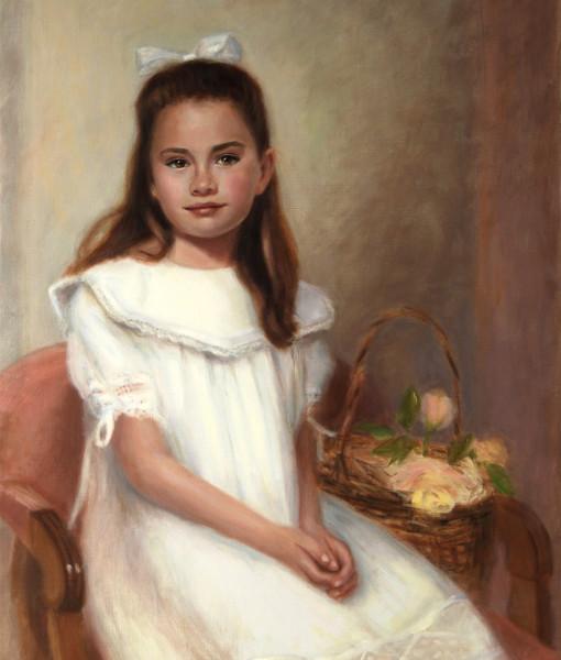 Artist portraits, portrait artists, sarah