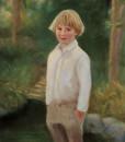 Oil portrait by portrait artist Sonia Hale, loard