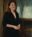 Portrait Artists, Family painting , Oil portrait by Boston portrait artist Sonia Hale, portraits inc