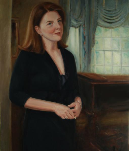 Portrait Artists, Family painting , Oil portrait by Boston portrait artist Sonia Hale