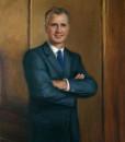 Portrait Artist Sonia Hale's Formal Men's Oil Portrait, a formal oil portrait
