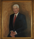 Portrait Artist Sonia Hale's Formal Men's Oil Portrait, a formal oil portrait