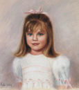 pastel portraits, children's pastel portraits
