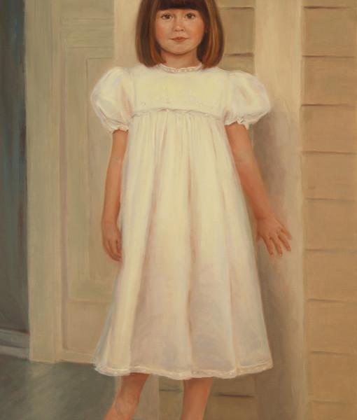 Oil portrait by portrait artist Sonia Hale