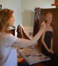 Portrait Artist Sonia painting family portrait painting.