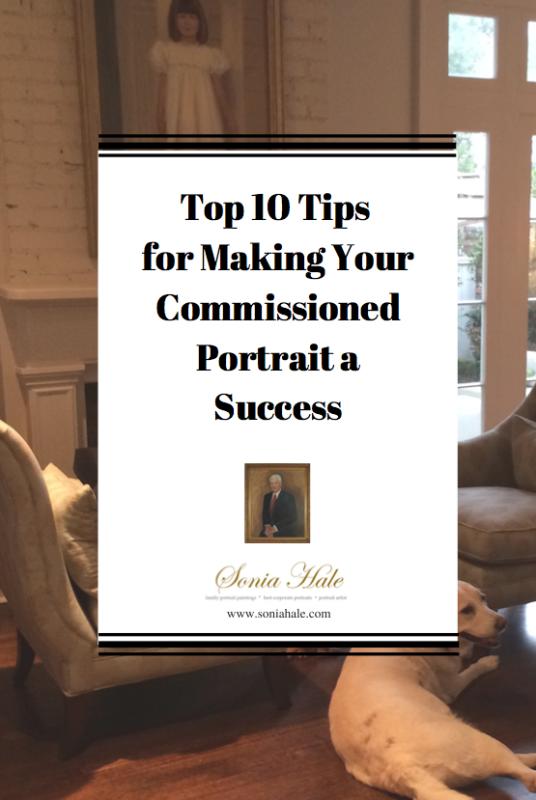 Commission a Portrait, Tips for Oil portrait buyers