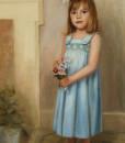 Oil portrait by Boston portrait artist Sonia Hale, portrait artists