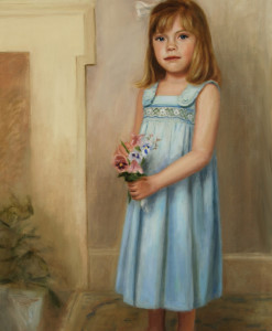 Oil portrait by Boston portrait artist Sonia Hale, portrait artists