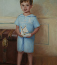Oil portraits of Children, Family Portrait Painting, Family Oil Portraits