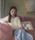 Portrait painting by portrait artist sonia hale