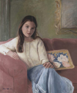 Portrait painting by portrait artist sonia hale