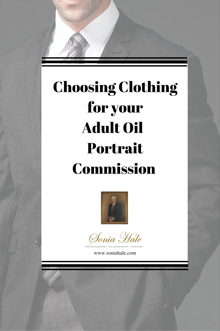Commission a Portrait: Selecting Clothing for your Portrait Painting