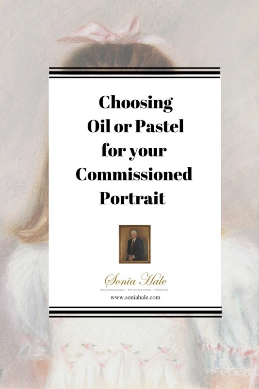 Choosing Pastel or Oil Portraits, Family and Business portraits